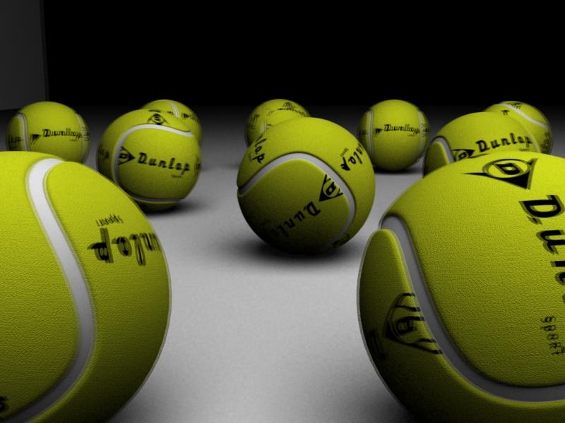 Tennis Ball_Dunlop